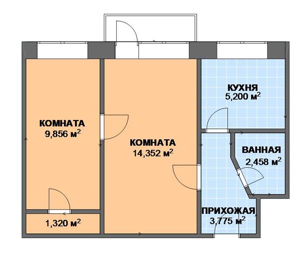 2) Ташкентская планировка.