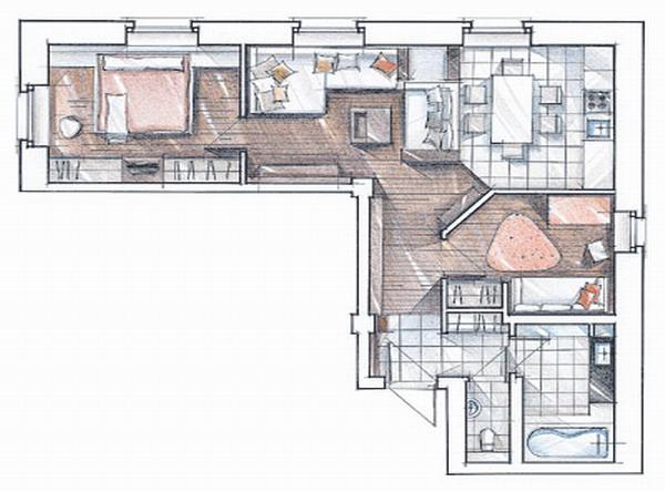 комнатная квартира: планировка, особенности и