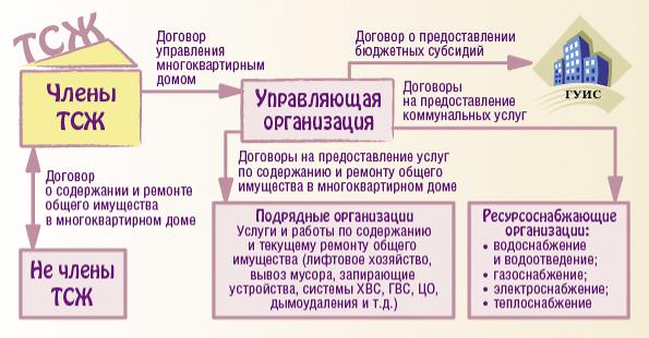Договор управления с тсж образец
