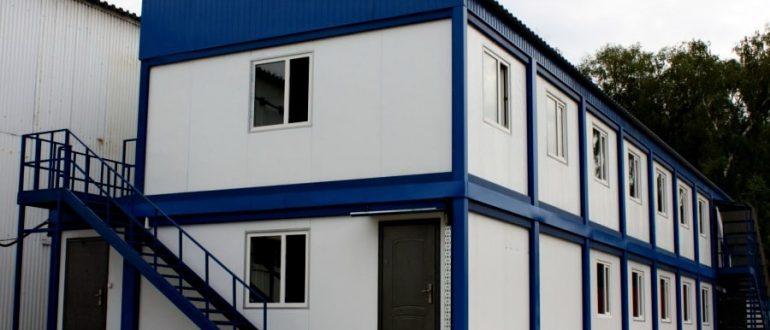 Модульные дома 2 этажа