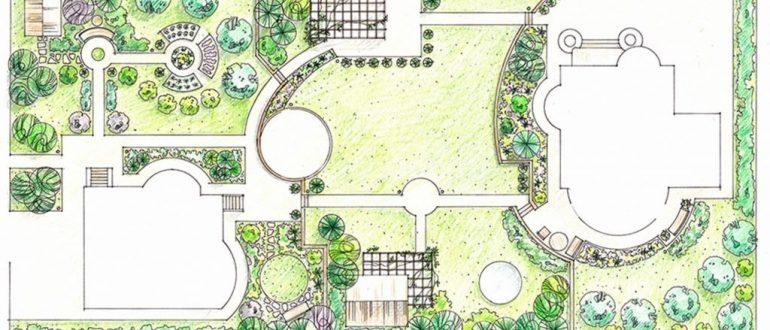 Этапы создания ландшафтного дизайна
