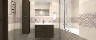 Ремонт в ванной комнате с kerama marazzi своими руками