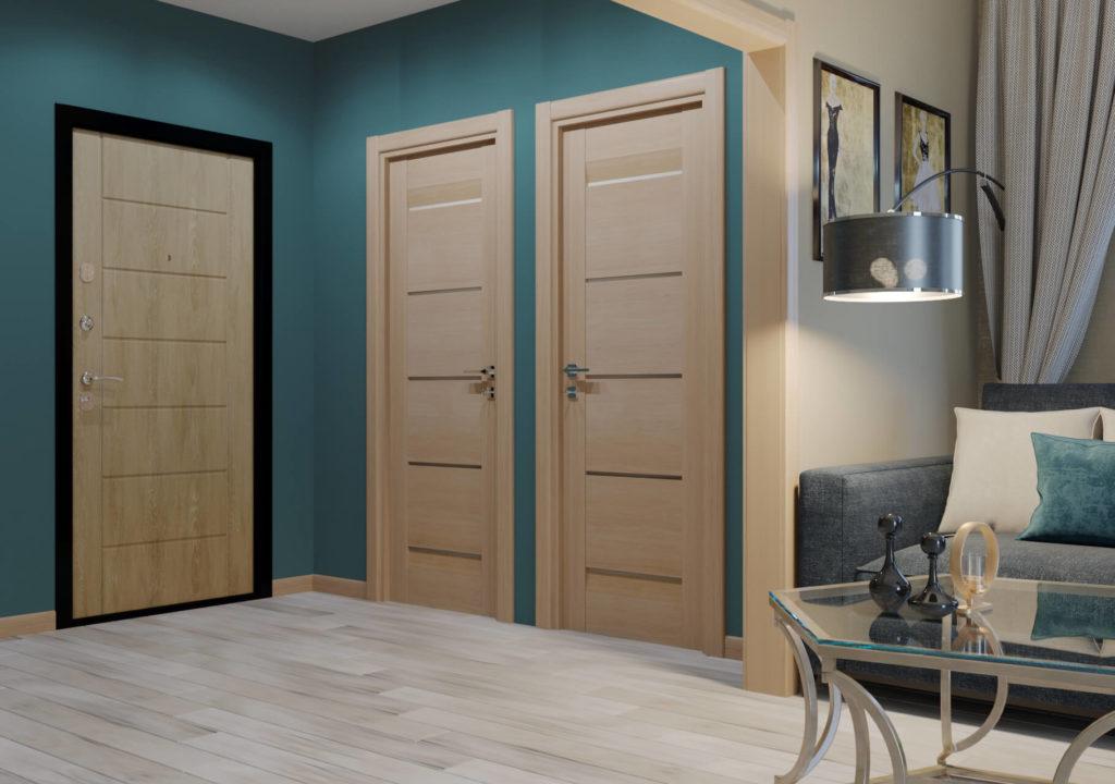 Советы по выбору входных и межкомнатных дверей