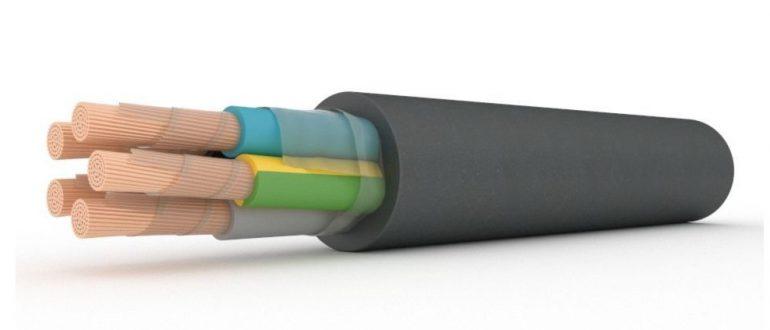 Кабель силовой гибкий РПШ: провод для неподвижного и подвижного монтажа