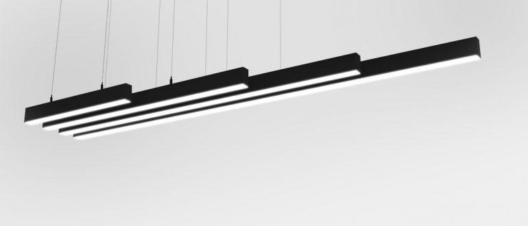 Подвесные профильные светильники